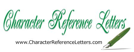 Influential Example Character Reference Letter for Court
